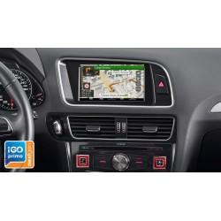 """Sistema de Navegación con pantalla táctil de 7"""" y mapas TomTom para Audi Q5,X702D-Q5"""